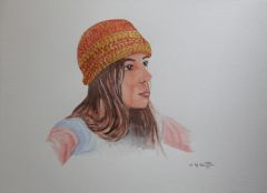 Girl with a Red Hat