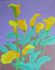 Calla Lilies I