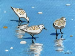 Sandpipers I - Acrylic