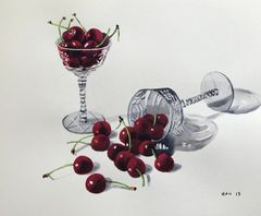 Cherries in Glasses