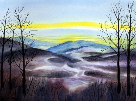 Mountain View - Winter II