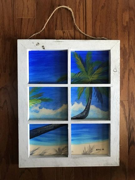Window - Palm Tree VI