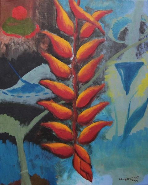 Untitled - Heliconia