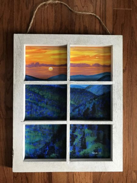 Window - Smoky Mountain I