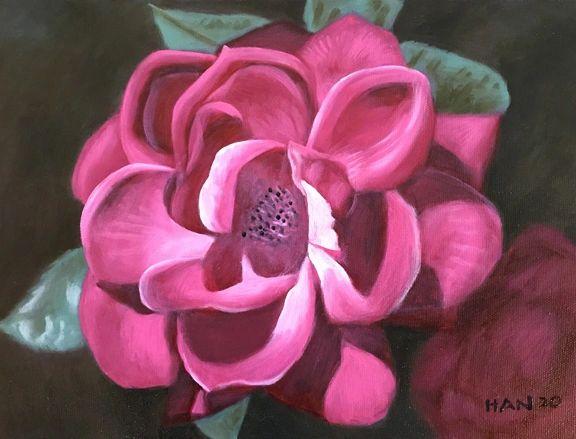 Rose - Close Up - Framed