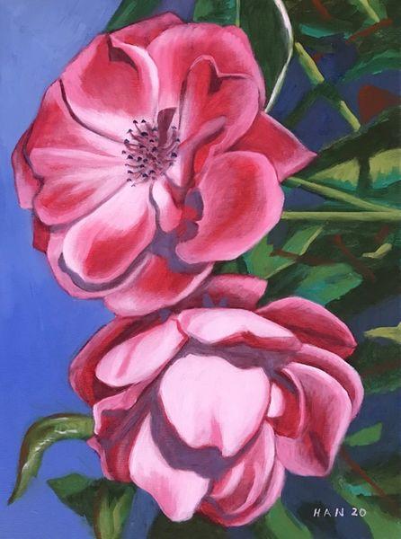 Rose Garden V - Framed - Not for Sale