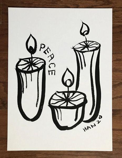 W - Peace - Candle Light I