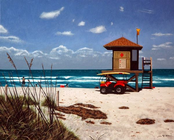 Life Guard Tower - Not for Sale