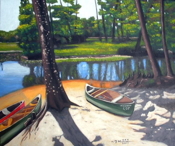 Canoe Ride - Not for Sale