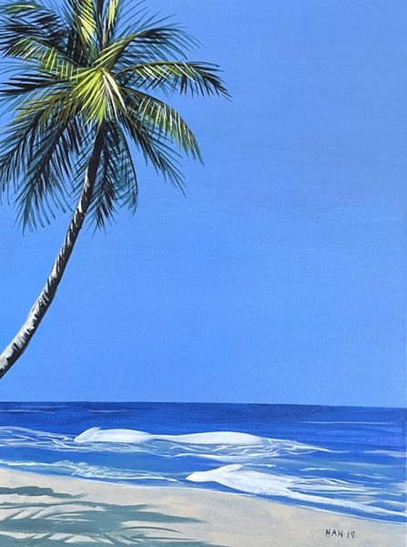Palm Tree Scene I - Not for Sale