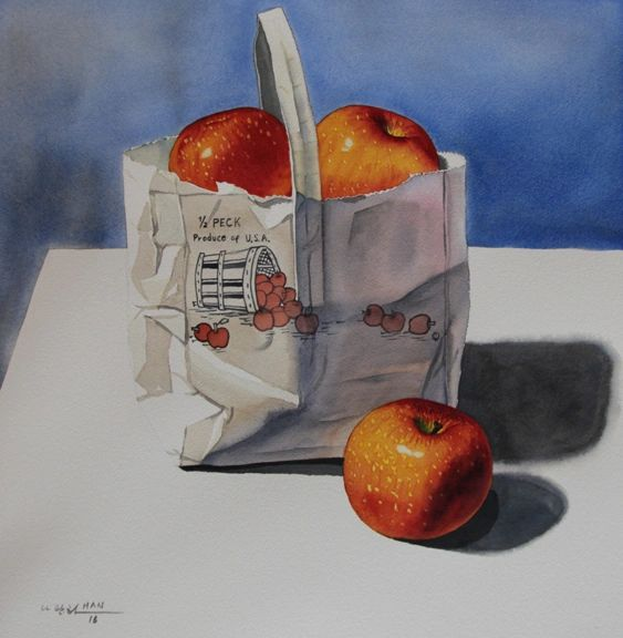 A Bag of Apples - Not for Sale
