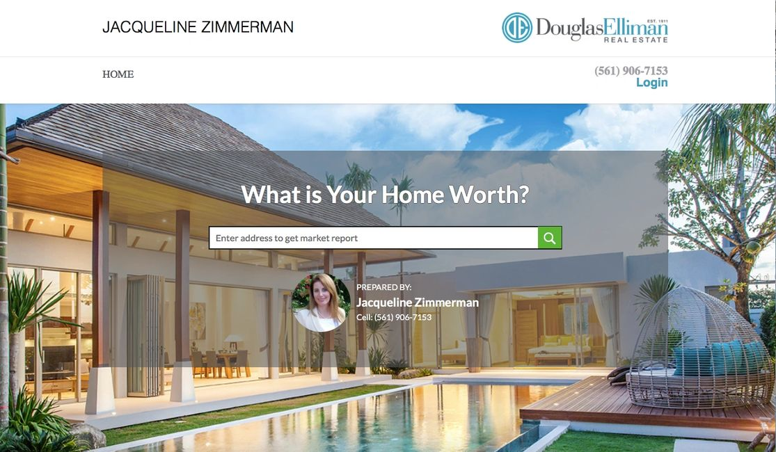 BUYSIDE is the revolutionary way to value a home in real time. Realtors, Palm Beach, Home value