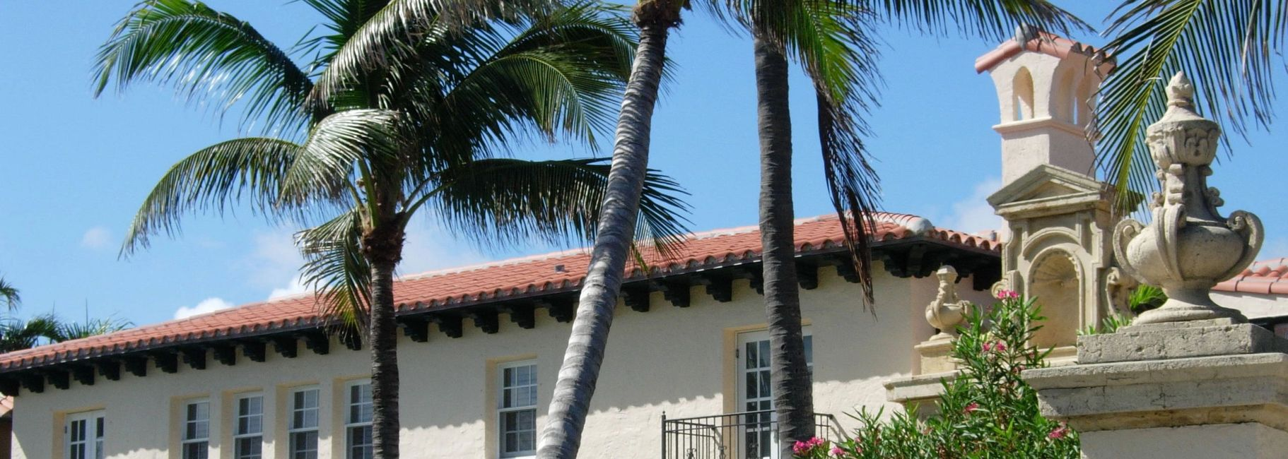 History of Palm Beach, FL, historic home