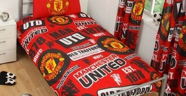 Manchester United Red Single Quilt Cover.