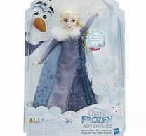ELSA DOLL DISNEY'S OLAF'S FROZEN ADVENTURE SINGING WHEN WE'RE TOGETHER