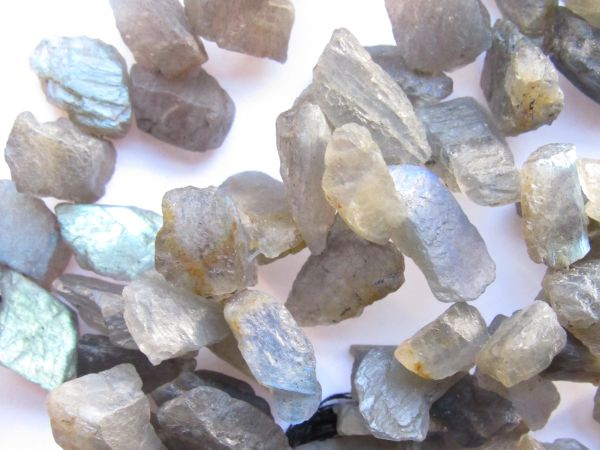 Bead Supplies for making jewelry - LABRADORITE Beads Rough Organic Raw Top Drilled Flash Freeform Unpolished Raw Gemstone bead