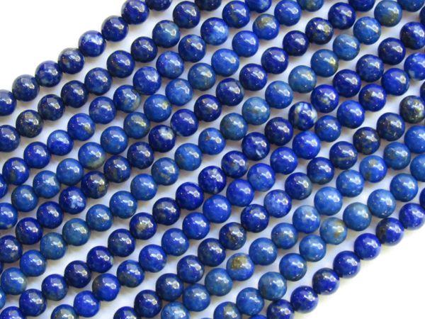 LAPIS Lazuli BEADS 4mm Round A Grade Natural Blue Gemstone 100 pc Strand Undyed