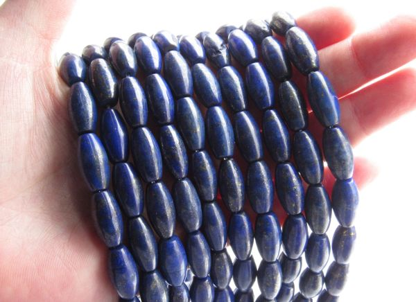 bead supply LAPIS LAZULI BEADS Barrel 16x8mm Natural Blue A Grade Gemstone Bulk for making jewelry