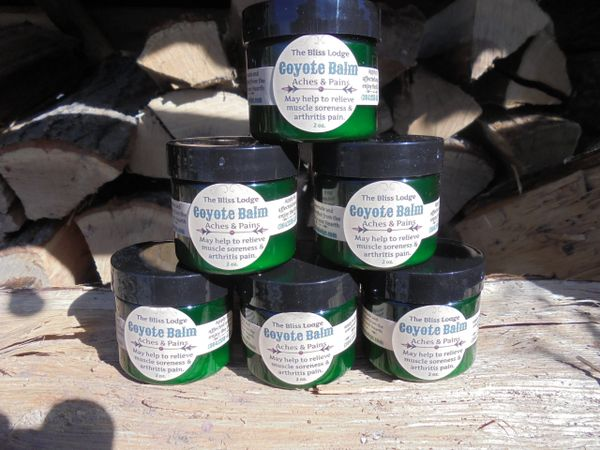 Coyote Balm (green screw top jar)