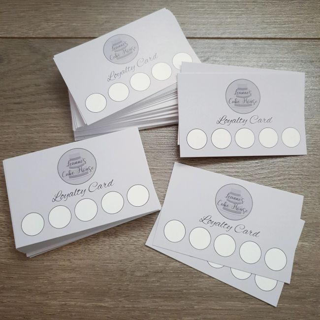 Don't forget to pick up your FREE loyalty card when ordering cakes from Rugeley & surrounding areas