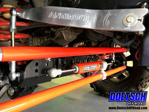 Doetsch Off-Road 07-18 Jeep JK Aluminum Tie Rod and Drag Link Steering Flip  Kit with 1-Ton Offset Ends