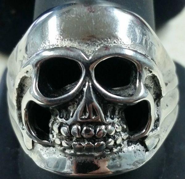 Open Face Skull