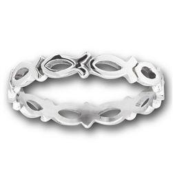 Icthus ring