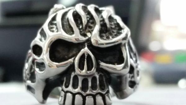 Skull w/ Flames