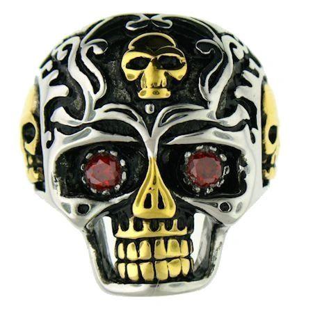 Large Ornamental Skull