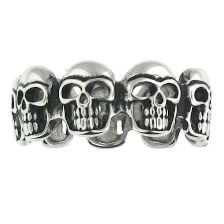 Grinning Skull Band