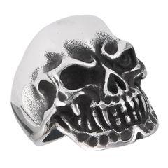 One Eyed Grinning Skull