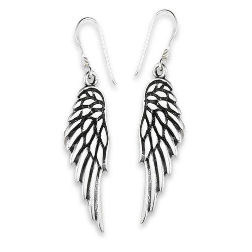 Heavy Angel Wing Dangles