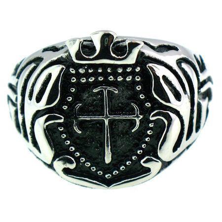 Medieval Cross & Crown