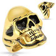 Gold/Black Skull