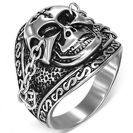 Skull w/ Chains