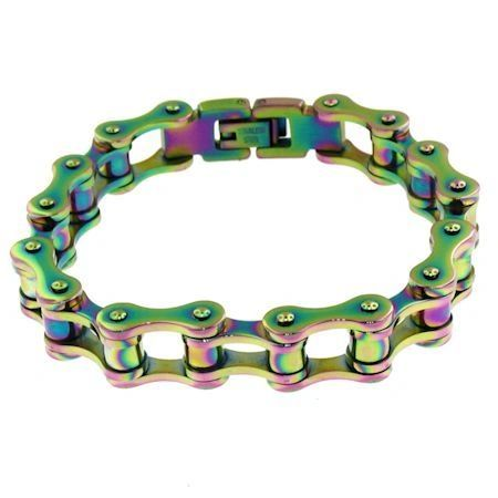 Anodized Bike Chain