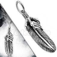 Eagle Claw w/ Feather