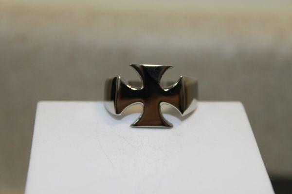 Maltese Cross White