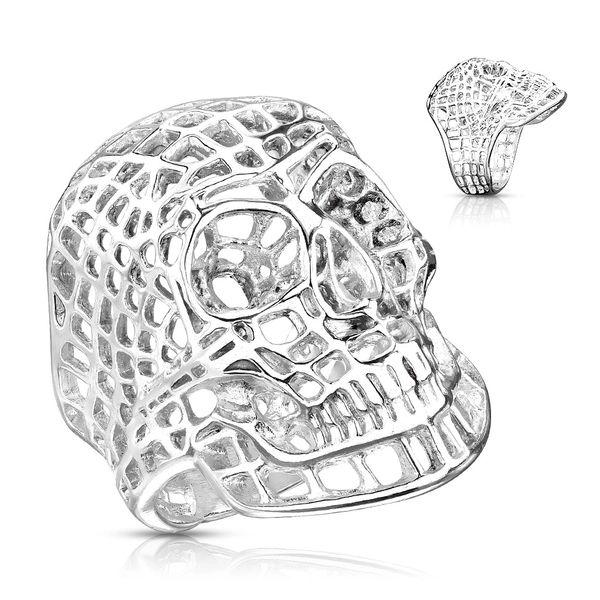 Matrix Skull Ring