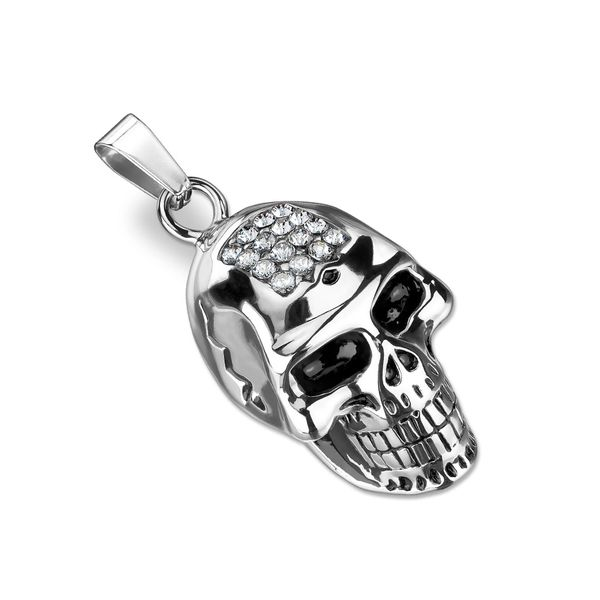 Skull With CZ Forehead