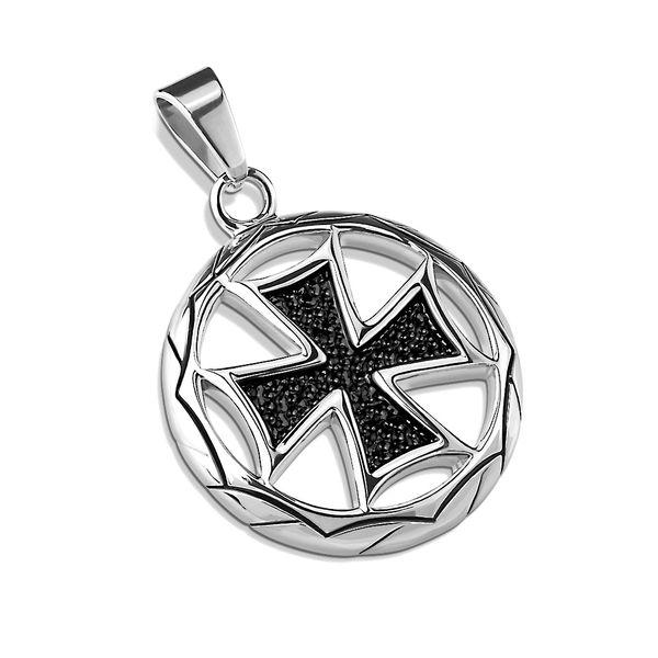 Circle Sparkle Cross