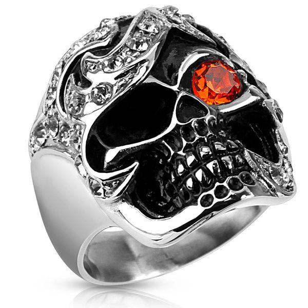 Pirate Treasure Skull Ring