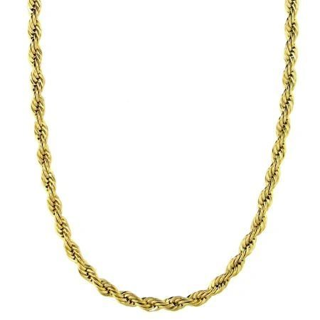 Gold Plated Rope Chain 4MM