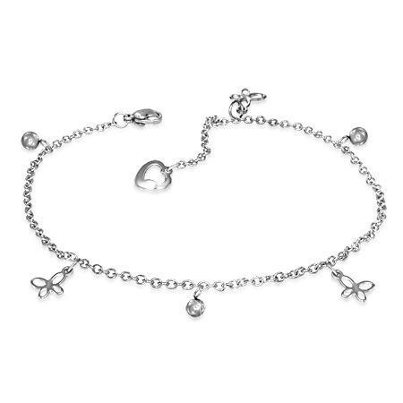 Butterfly Ball Anklet