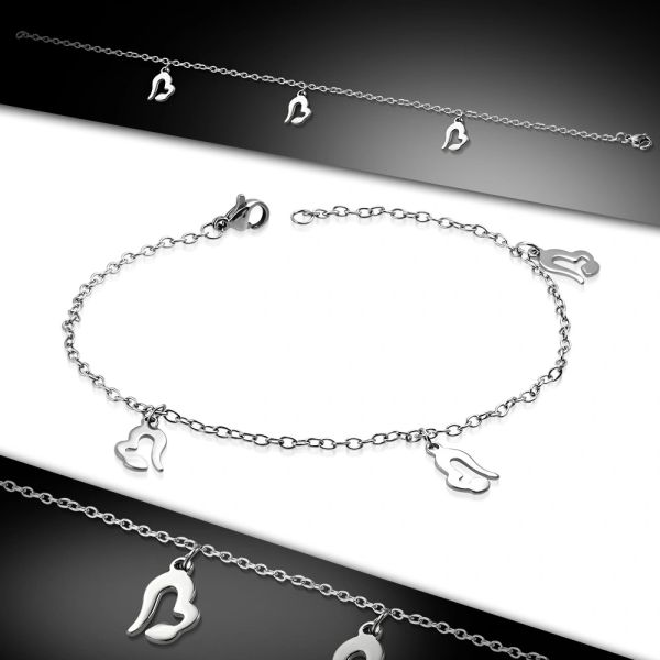 Open Heart Anklet
