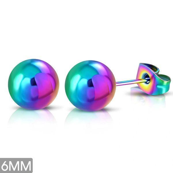 6mm Rainbow Studs