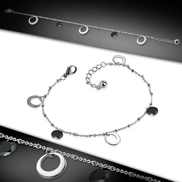 Open Circle Anklet