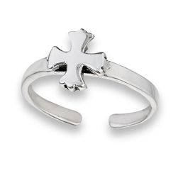 Iron Cross Toe Ring