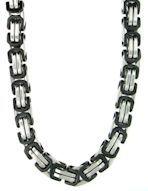 Two Toned Bizantine Chain