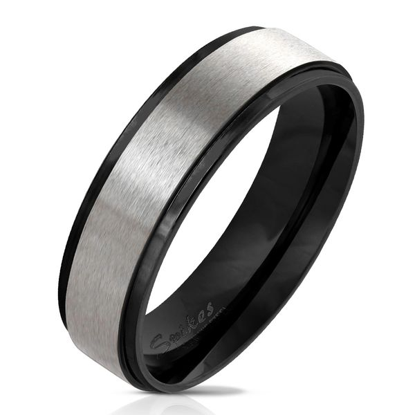 Black and Stainless Band